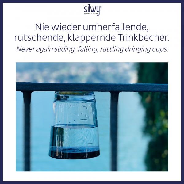 Magnet-Trinkbecher Triple LUI BLUE