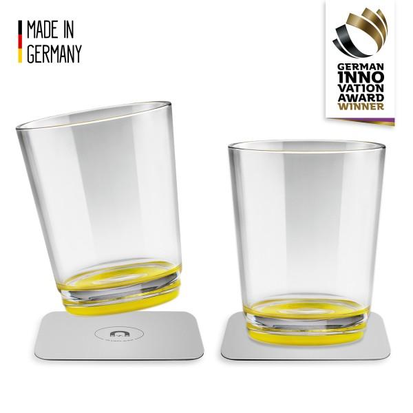 Magnet-Trinkbecher (2er-Set), Oh Yellow