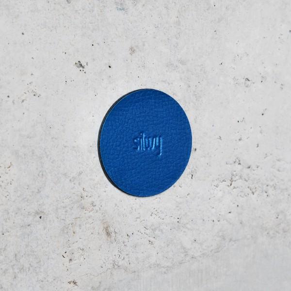 "Magnet-Pins ""FLEX"" inkl. Metall-Nano-Gel-Pads BLUE"