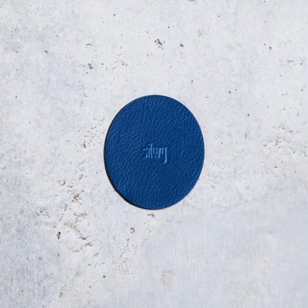 "Magnet-Haken ""CLEVER"" BLACK inkl. Metall-Nano-Gel-Pad BLUE"