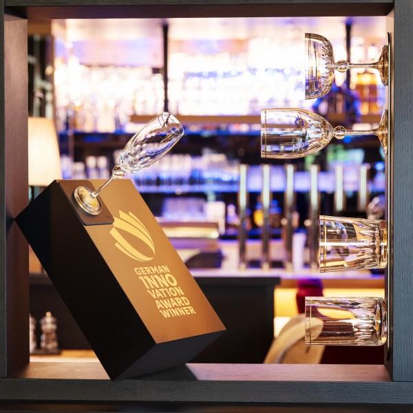 silwy 1/EXKLUSIV Magnetglas Champagner Gold