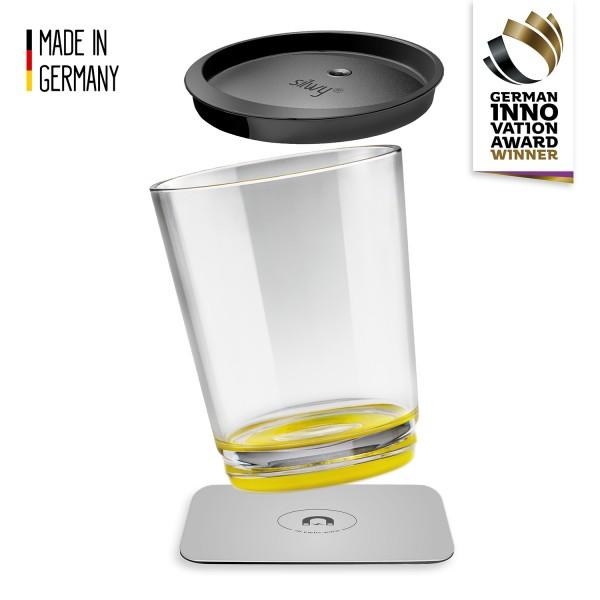 Magnet-Trinkbecher Triple, Oh Yellow