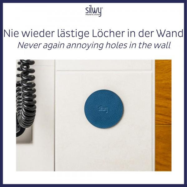 Metall-Nano-Gel-Pads (4er-Set) 5cm BLUE