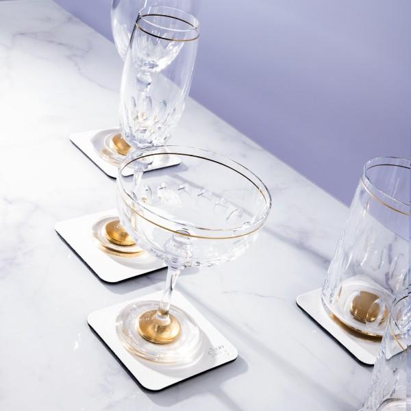 silwy 1/EXKLUSIV Magnetglas Ginschale Gold