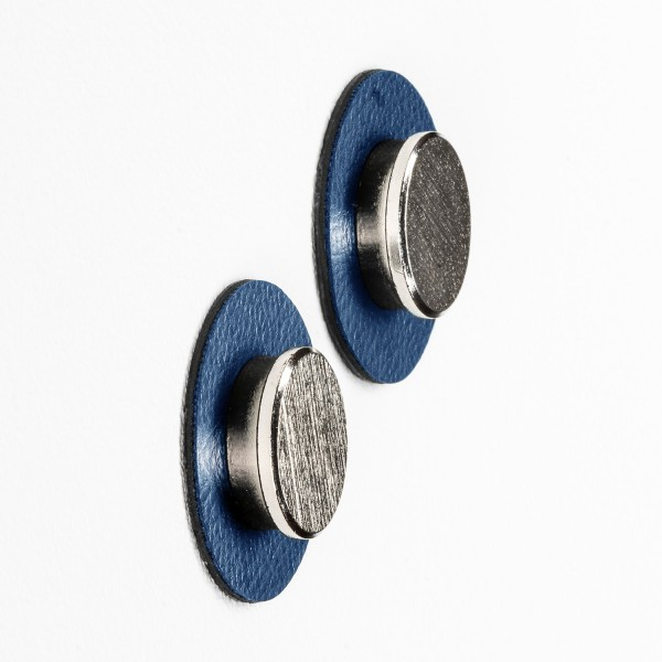 "Magnet-Pins ""SMART"" inkl. Metall-Nano-Gel-Pads ""BLUE"""