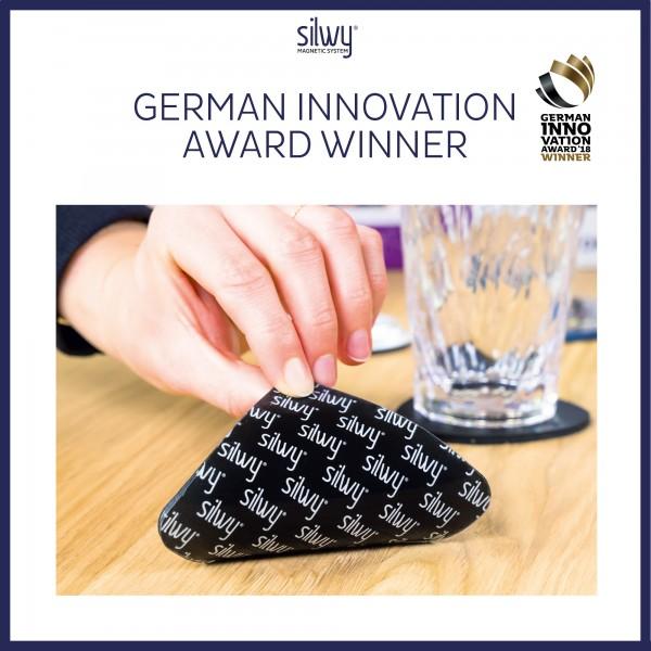 Metall-Nano-Gel-Pads (eckig) BLACK