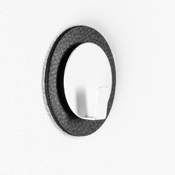 "Magnet-Haken ""CLEVER"" inkl. Metall-Nano-Gel-Pad ""BLACK"""