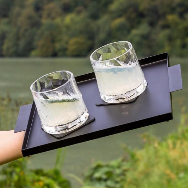 Magnet-Kunststoffgläser TUMBLER (6er-Set) Hightech
