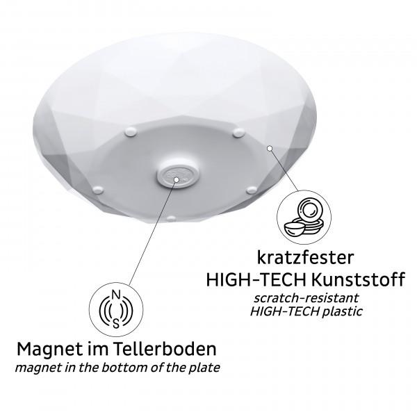 silwy Universal-Magnet-Teller (2er-Set)