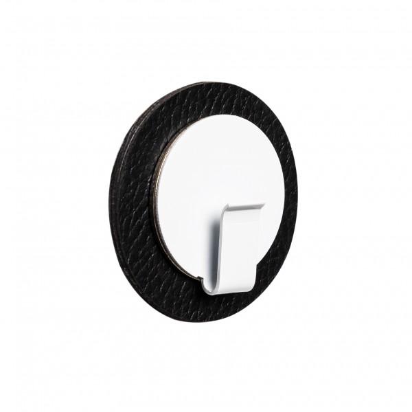 "Magnet-Haken ""CLEVER"" inkl. Metall-Nano-Gel-Pad BLACK"
