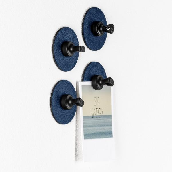 "Magnet-Pins ""FLEX"" inkl. Metall-Nano-Gel-Pads BLUE-Copy"
