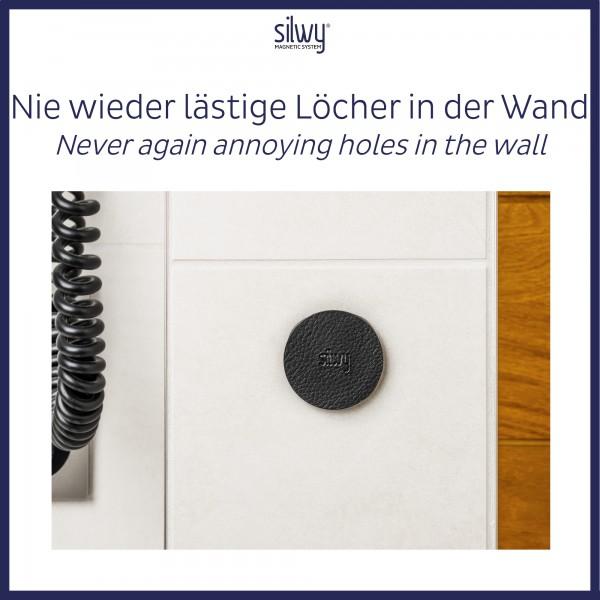Metall-Nano-Gel-Pads (4er-Set) 5cm BLACK