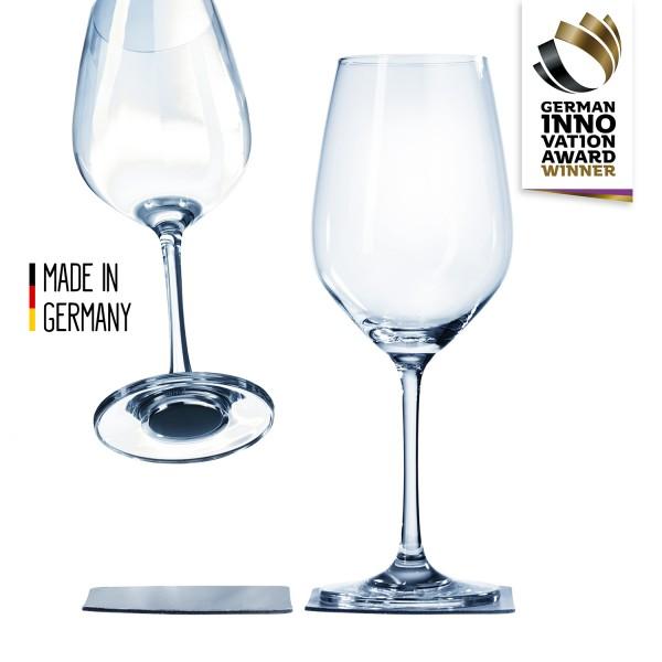 Magnet-Kristallglas Wein