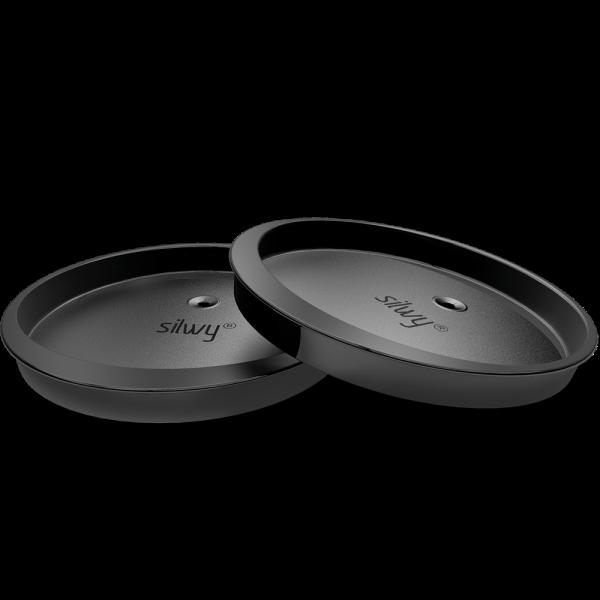 Deckel für Magnet-Trinkbecher mit Trinkhalmöffnung