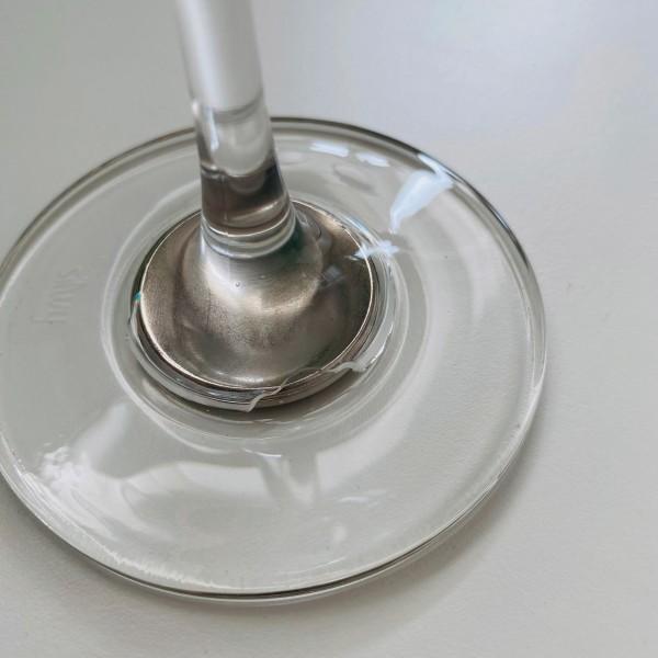 ZWEITE WAHL: Magnet-Kristallgläser WEIN