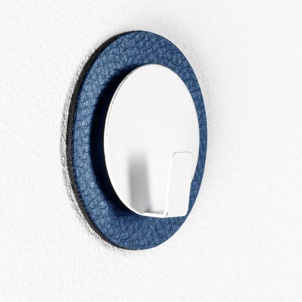 "Magnet-Haken ""CLEVER"" inkl. Metall-Nano-Gel-Pad BLUE"