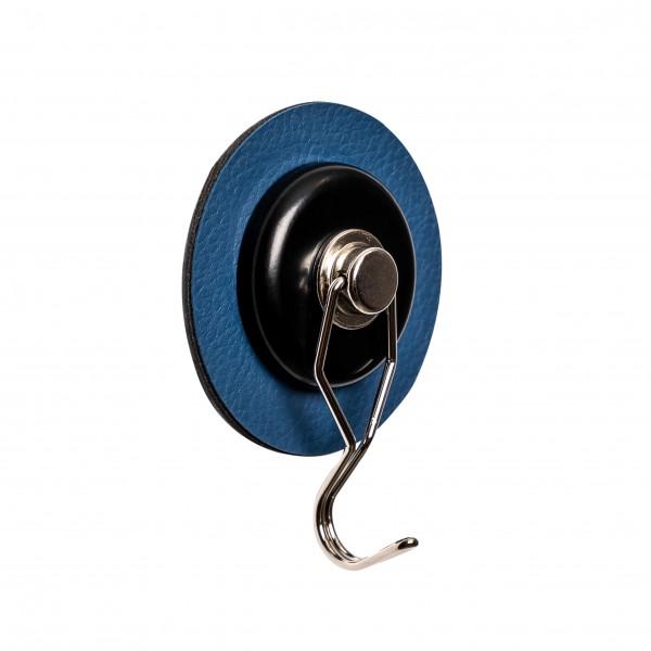 "Magnet-Haken ""THE ONE"" inkl. Metall-Nano-Gel-Pad BLUE"