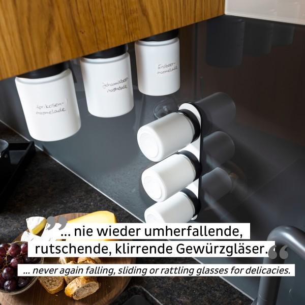 Feinkost-Magnetgläser (3er-Set) ALL WHITE