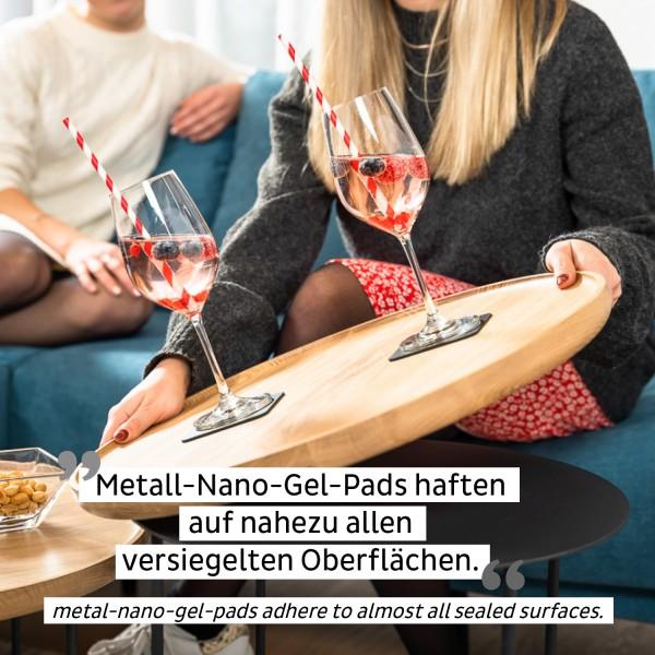 Magnet-Kristallgläser WEIN (2er-Set)