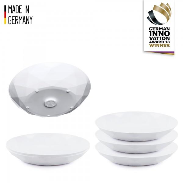 silwy Universal-Magnet-Teller (6er-Set)