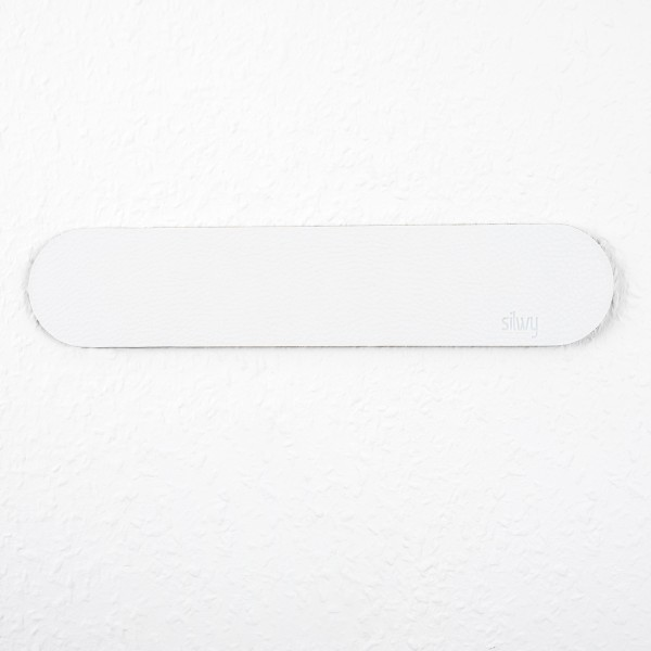 Metall-Leiste 25 cm WHITE für Magnetgläser