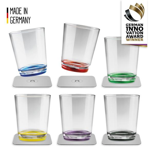 Magnet-Trinkbecher (6er-Set), Multicolour