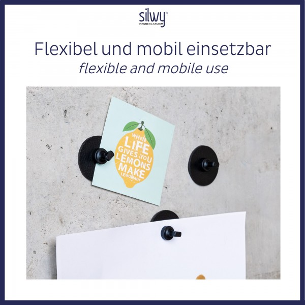 Magnet-Pins FLEX (4er-Set)