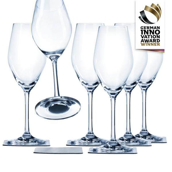 Magnet-Kristallglas Champagner Vorteils-Box