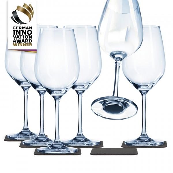 Magnet-Kristallglas Wein Vorteils-Box