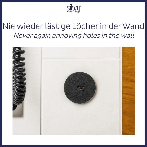 Metall-Nano-Gel-Pads (4er-Set) 6,5cm BLACK